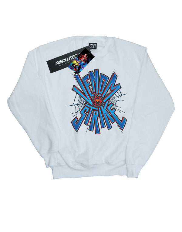 065e0c3f Marvel Men's Spider-Man Into The Spider-Verse Venom Strike Sweatshirt
