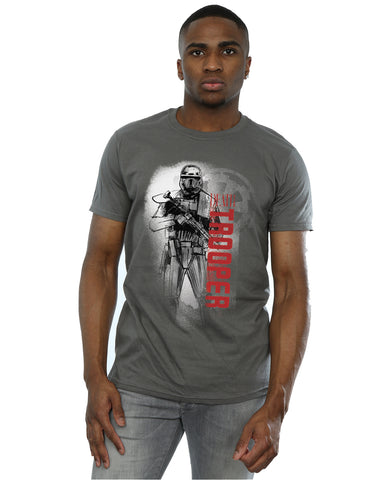 Star Wars Men's Rogue One Death Trooper Guards T-Shirt Front Image