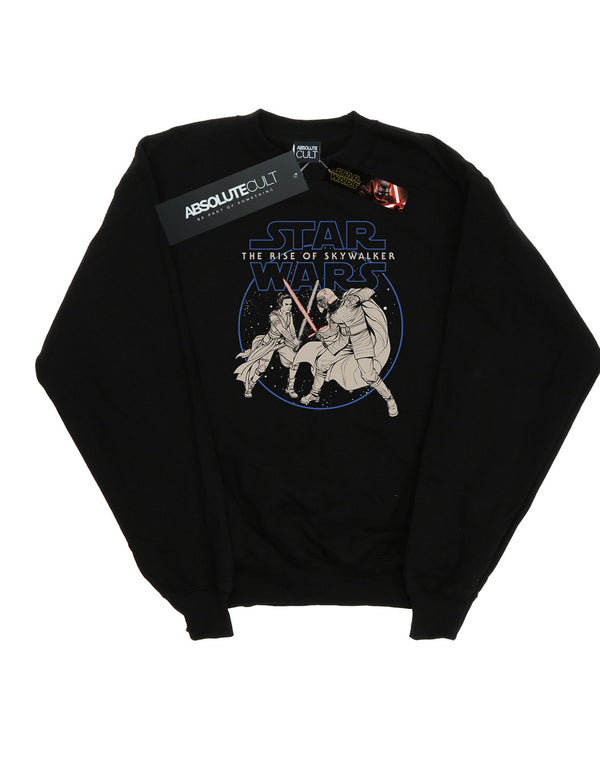 Star Wars The Rise Of Skywalker Rey And Kylo Combat Women's Sweatshirt | Absolute Cult