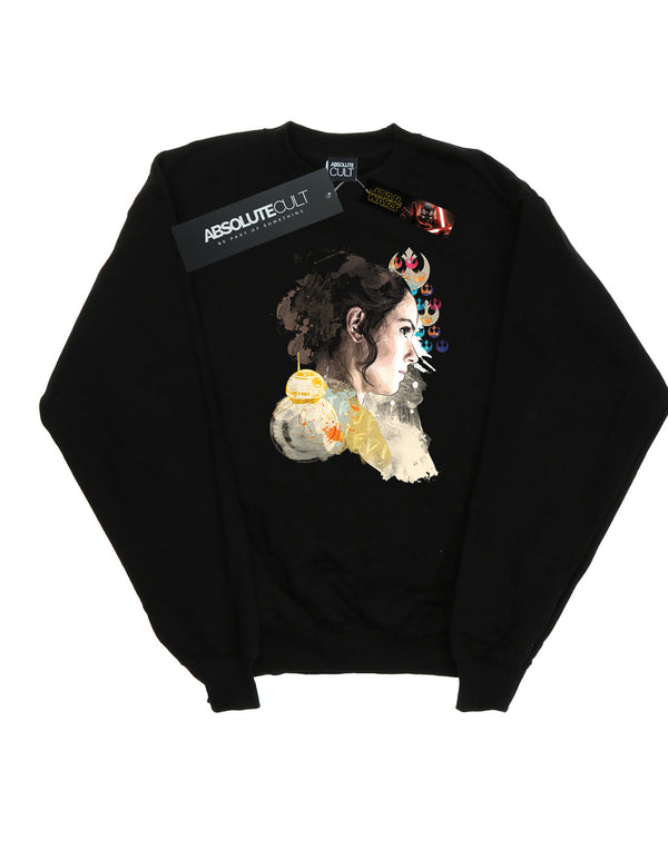 Star Wars The Rise Of Skywalker Rey Collage Women's Sweatshirt | Absolute Cult