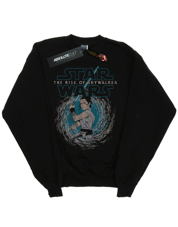 Star Wars Men's The Rise Of Skywalker Rey Whirl Sweatshirt