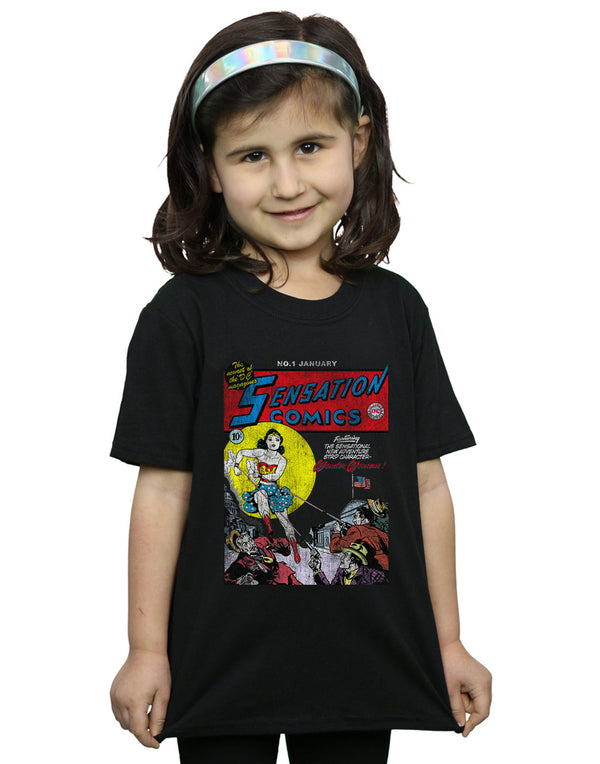 DC Comics Girls Wonder Woman Sensation Comics Issue 1 Cover T-Shirt