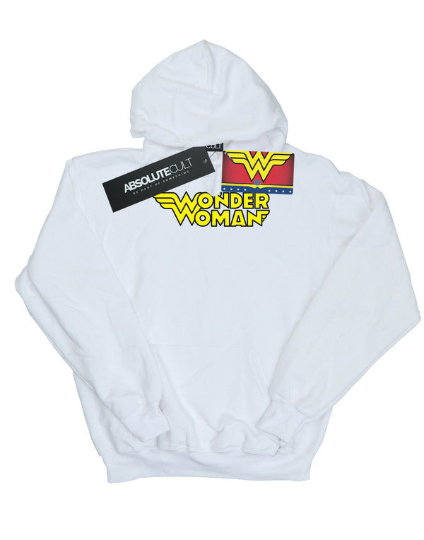 DC Comics Girls Wonder Woman Winged Logo Hoodie