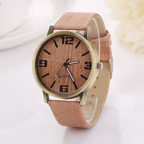 Style Minimalist Vintage Wooden Watches