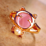 New Style Cat Eye Stone Ring