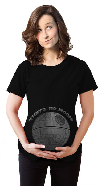 "That No Moon ""Mom To Be"" Maternity Shirt"