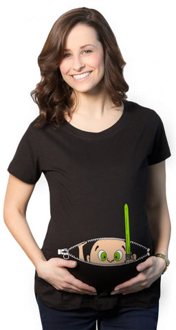 Expectant Mom Maternity T-Shirt
