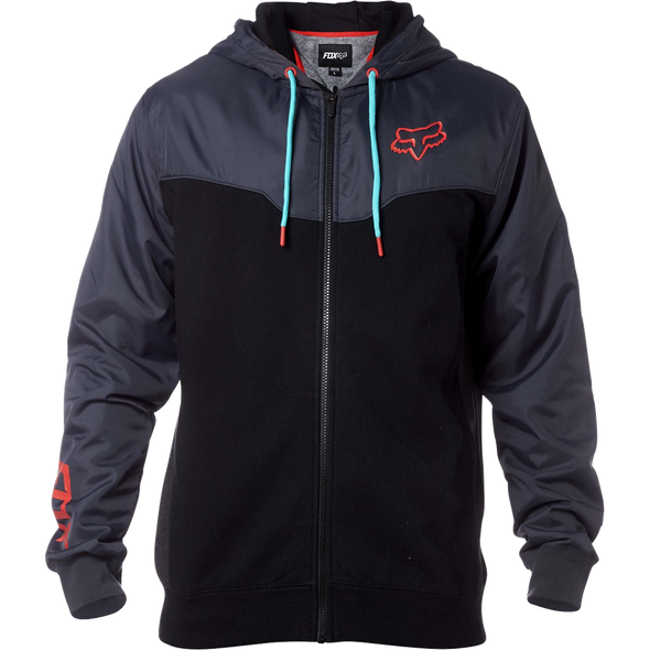 ROTATED ZIP FLEECE