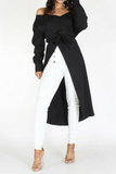 Black Cube Cardigan - The Fashion Armoire Ltd. Co.