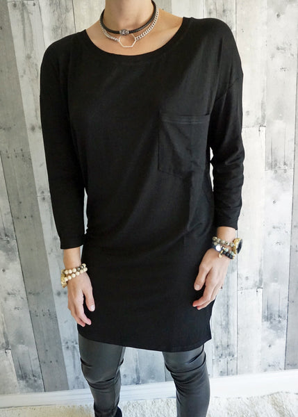 Ellison Basic Round Neck Tunic