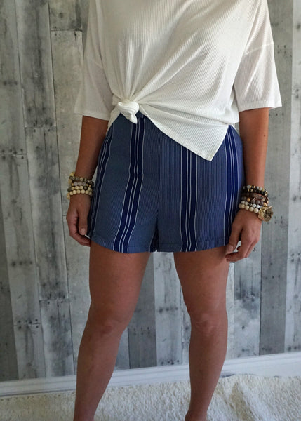 Lush Striped Shorts