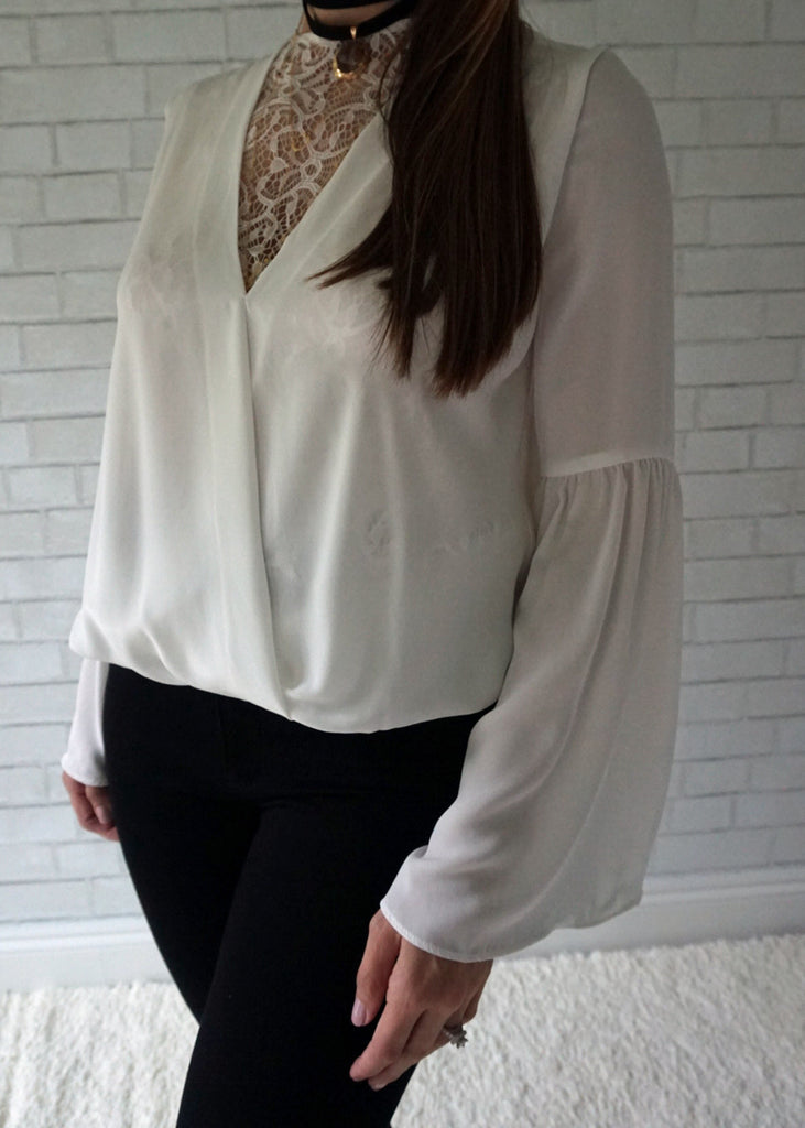 Veronica Bell Sleeve Blouse