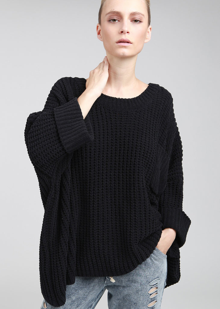 Oversized Chenille Pullover