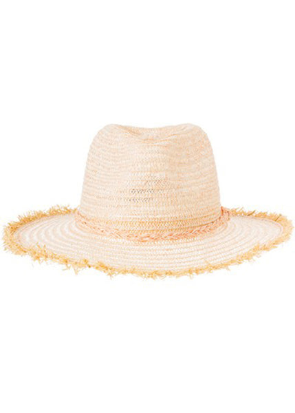 Braid Detail Panama Straw Hat