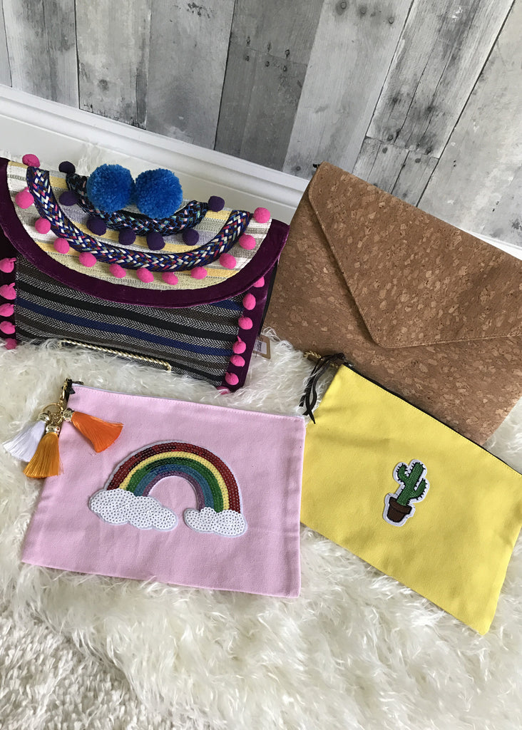 Handmade Colorful Pouch