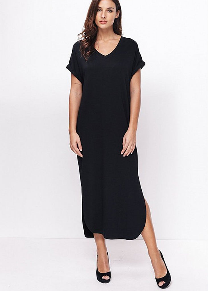 Ellison V-Neck Maxi Dress