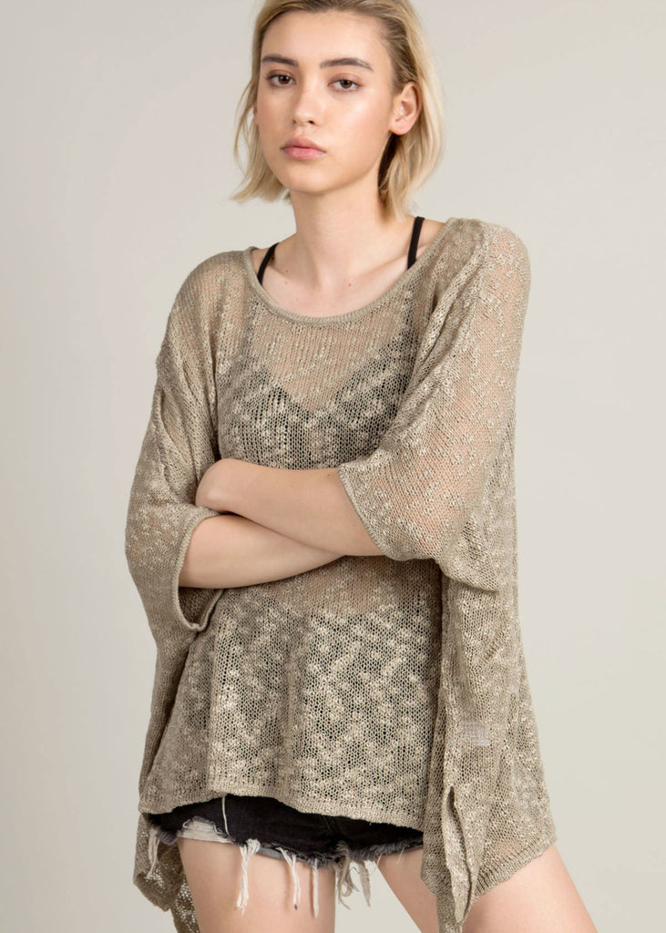 Thin Pullover Sweater