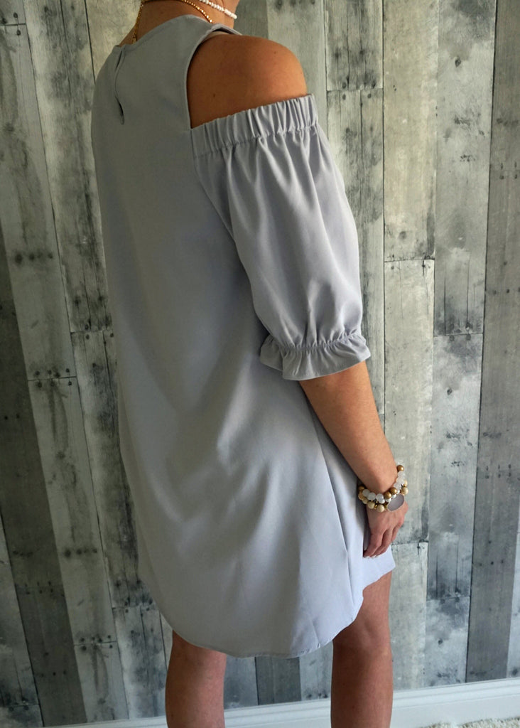 Peekaboo Shoulder Dress
