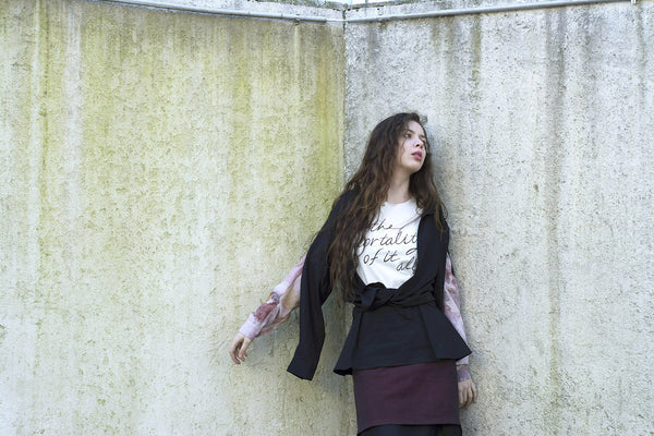 Memento Mori /Agliophobia - sustainable fashion by Henrica Langh