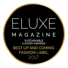 Eluxe Awards Best Up and Coming Fashion Label 2017 - Henrica Langh