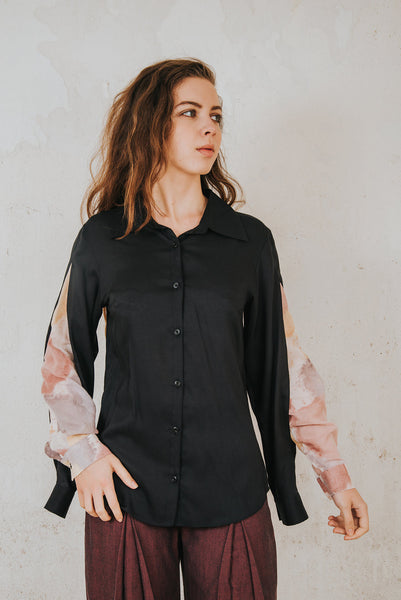 Henrica Langh - MicroModal button-down shirt