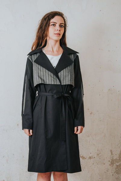 Henrica Langh - Organic cotton trench coat