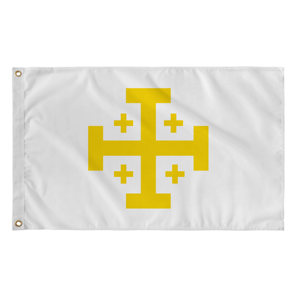 Kingdom of Jerusalem Flag