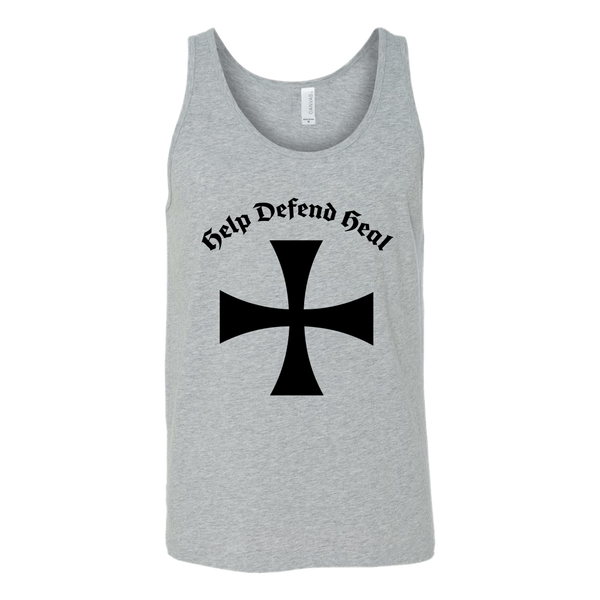 Teutonic Knight Fitted Tank & Motto