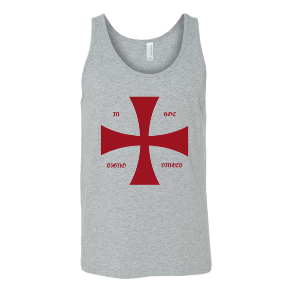 Templar Knight Fitted Tank & Motto