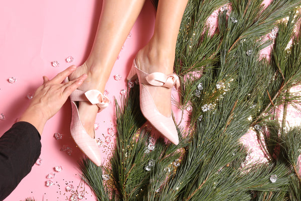PASS THE EGG NOG, HONEY. OUR STEP-BY-STEP GUIDE TO HOLIDAY SHOES FOR EVERY NEED.
