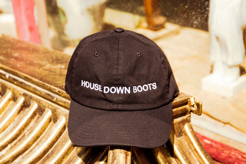 BOOTS THE HOUSE DOWN Cap
