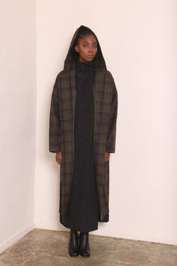 ARCHY Plaid Coat