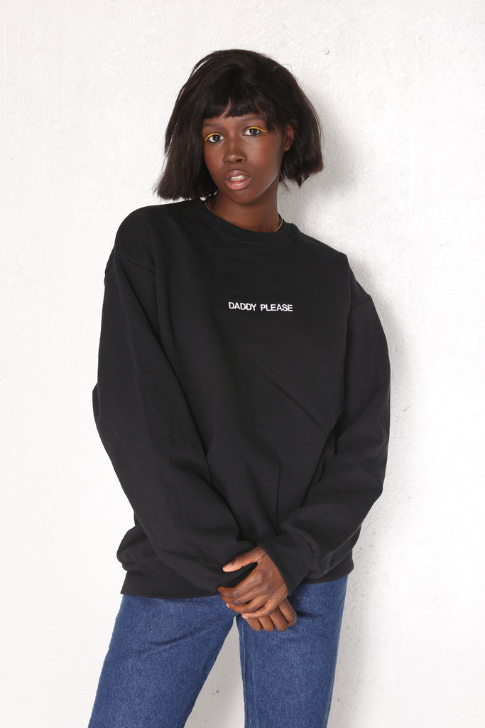 GIMMIE GIMMIE Pullover Blk/wht