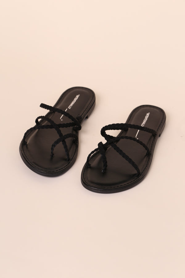 JULIETTA Black Suede