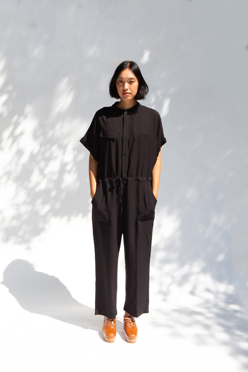 APEX Black Jumpsuit