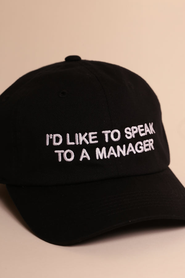 MANAGER MOMENTS BLK/WHT