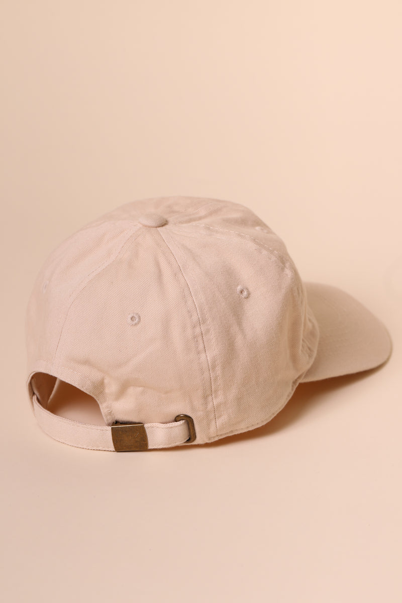 HOTLINE Dad Cap Sand/Red
