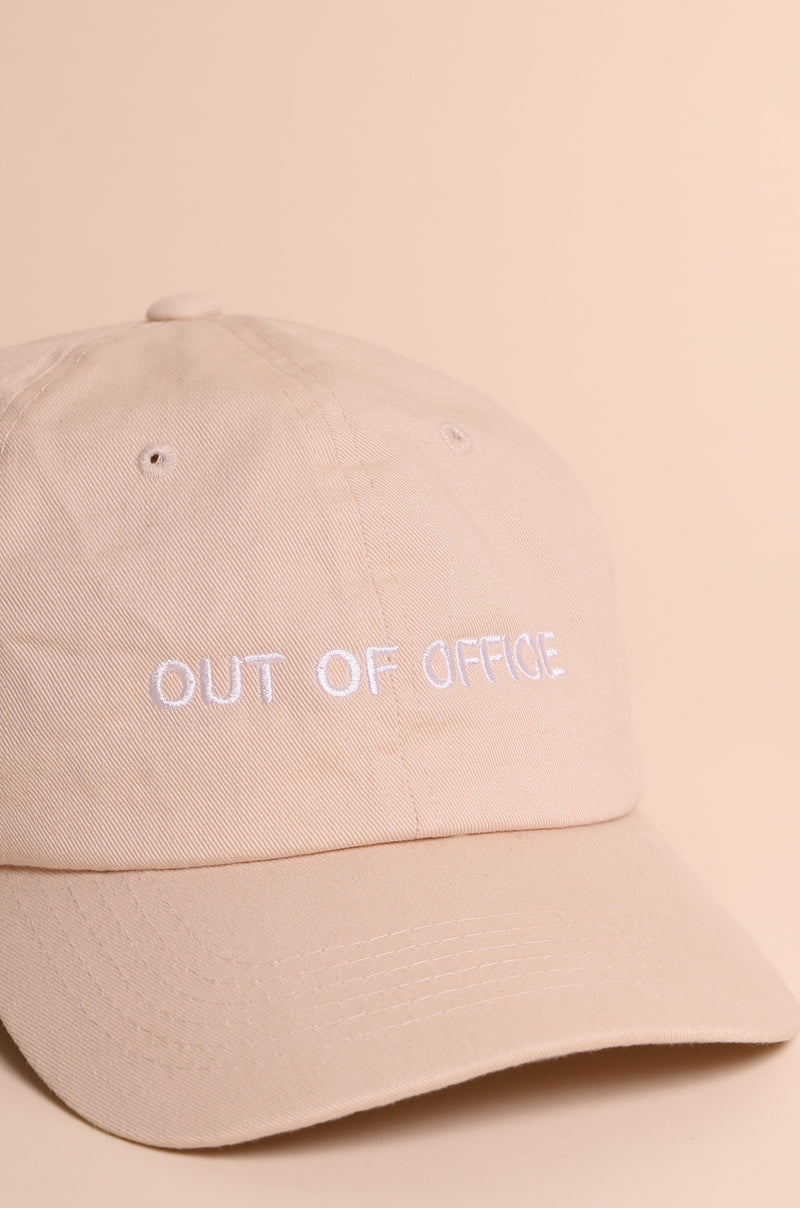 TRIPLE O Dad Cap Sand/White