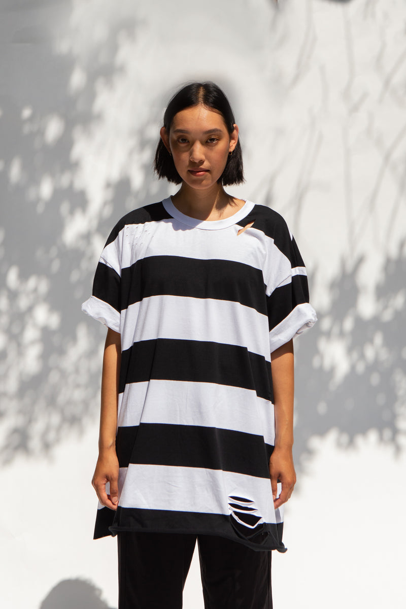 DATA Striped Shirt