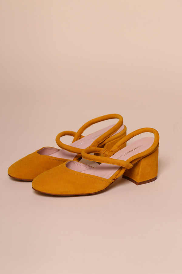 FRECKLE Canary Suede
