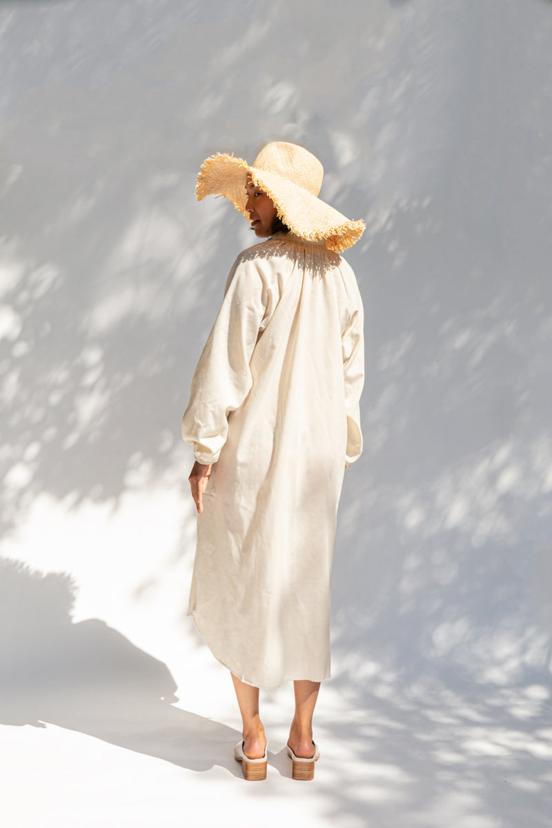 TAFT Cream Dress