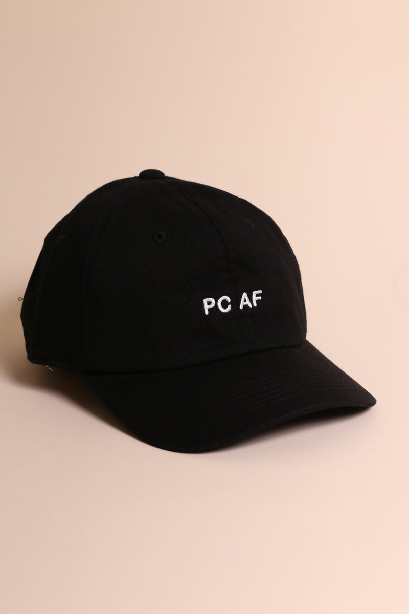 PC AF Dad Cap Black/White