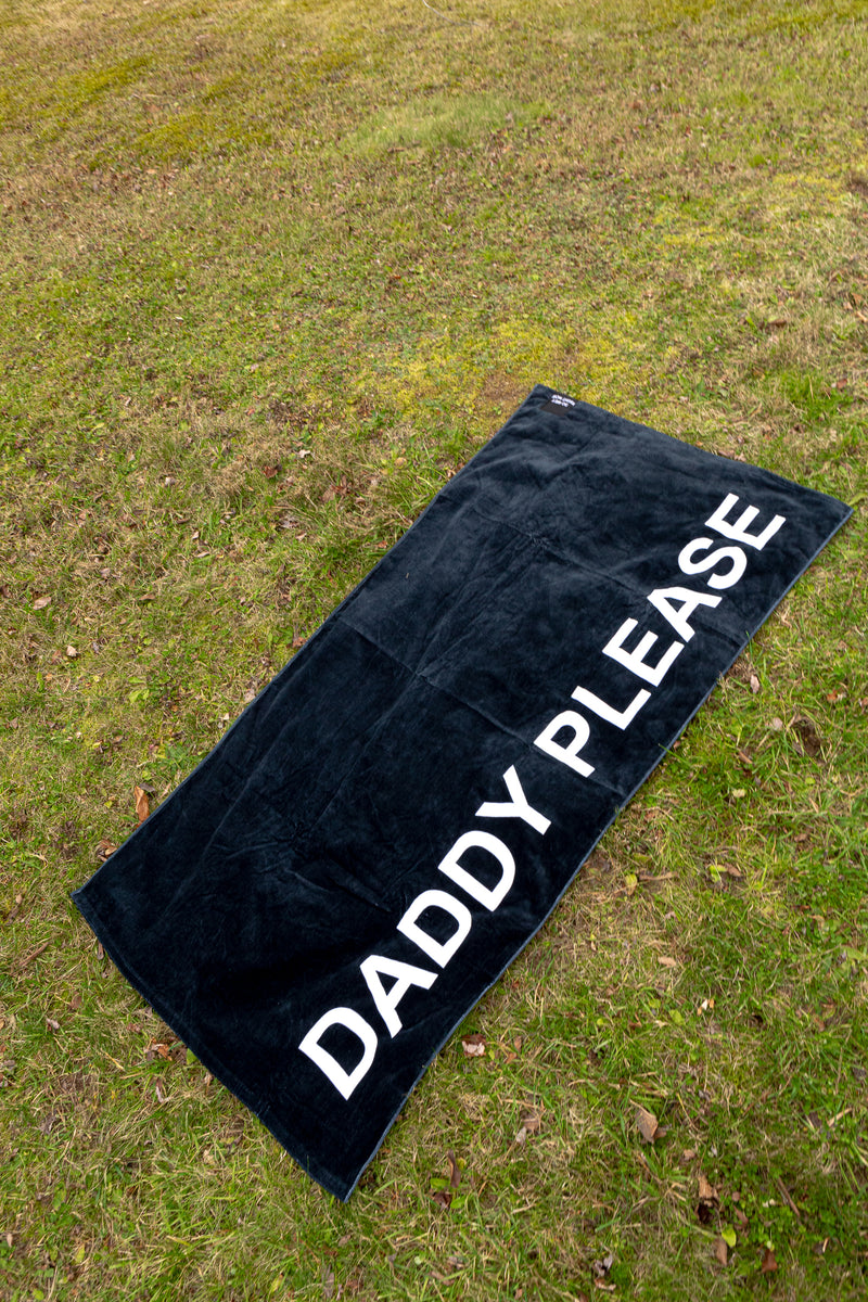 DADDY PLEASE BEACH TOWEL