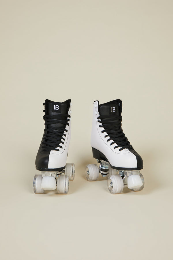 PARTNER SKATE MENS Black White