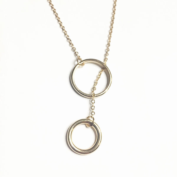 Circles - Mother & Daughter Connection Necklace - As You Wish Co.