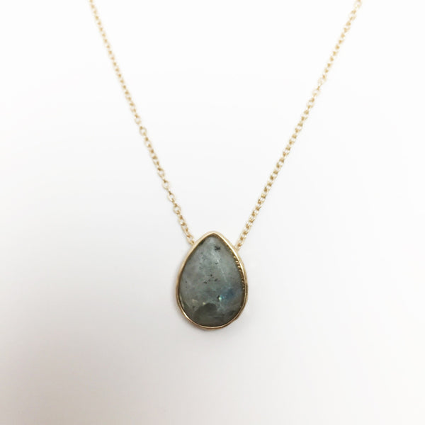 Crystal Teardrop - Abalone - As You Wish Co.