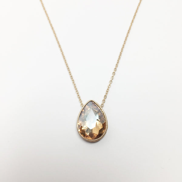 Crystal Teardrop - Topaz - As You Wish Co.