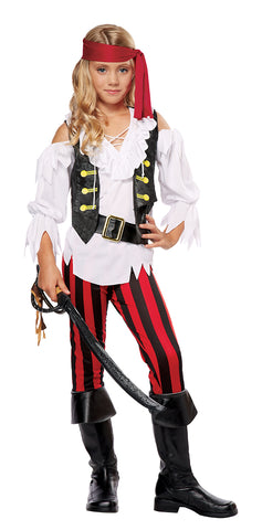 Posh Pirate-Child Costume - ExperienceCostumes.com