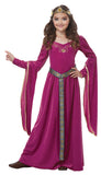 Medieval Princess-Child Costume