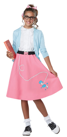 1950's Poodle Skirt-Child
